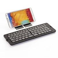 basix keyboard Foldable Ultra thin Mini Wireless Bluetooth Keyboard portable 68keys keypad For Windows Android iOS iphone