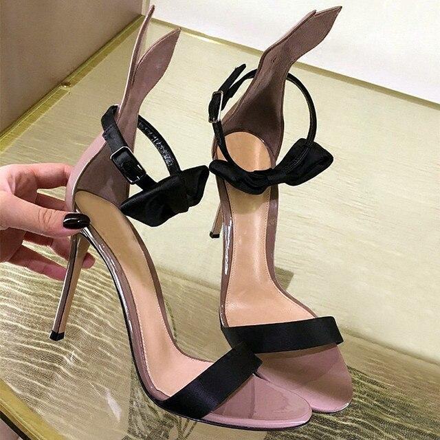 Симпатичные Боути 2016 Летний Новый Женщины Платформы Сандалии Sexy Peep Toe Тонкие Высокие Каблуки Свадебные Туфли Женщина Ремень Платье обувь