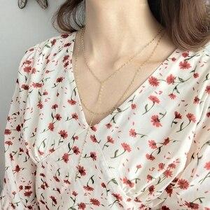 Image 3 - LouLeur 925 sterling silver pig naso doppio collana in oro città della moda del progettista della collana della catena per le donne 2018 festival dei monili di