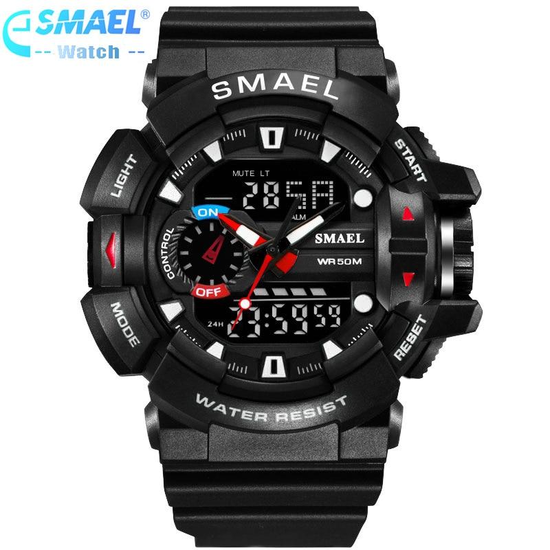 LED Reloj digital Hombre Deporte Relojes de pulsera 2018 Reloj Famosa - Relojes para hombres - foto 2