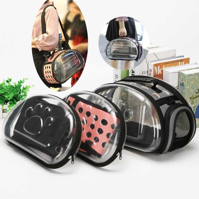 pet carrier Pet supplies breathable portable space doggy bag Can be disassembled dog crate