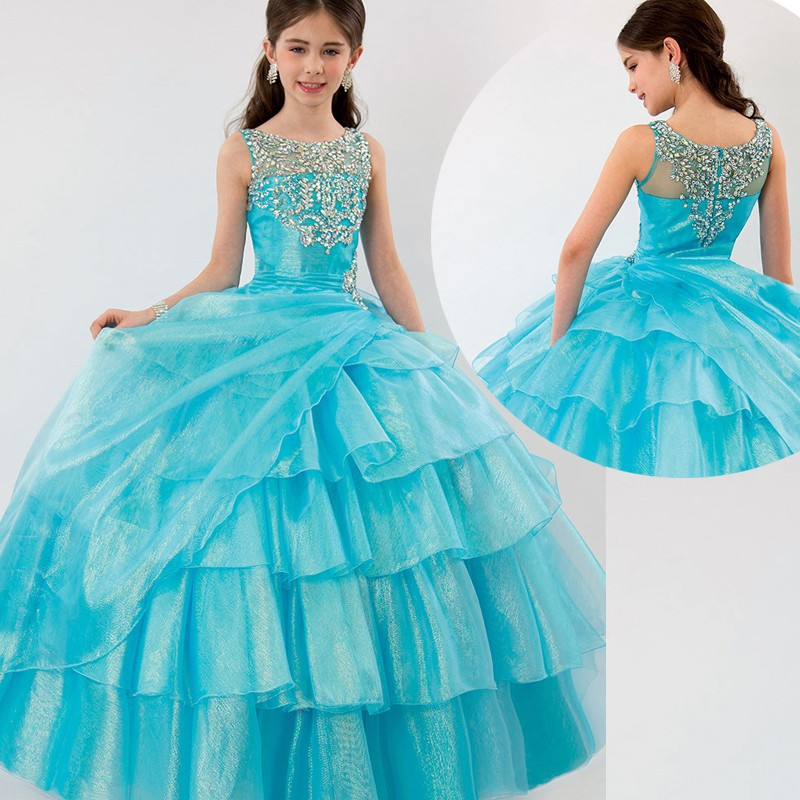 Popular Junior Pageant Dresses-Buy Cheap Junior Pageant Dresses ...