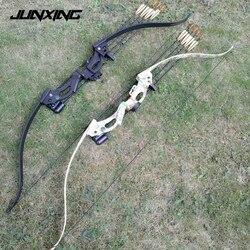 Zwei Farbe 48 Recurve Bogen mit 20lbs Ziehen Gewicht 28 Ziehen Länge für Frauen und Kinder Bogenschießen Praxis