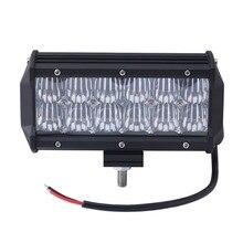Free Shipping 5D 36W 7inch LED Light Bar Flood Spot Beam Offroad Driving LED Light for 12V 24V 4x4V Truck ATV Spotlight Fog Lamp