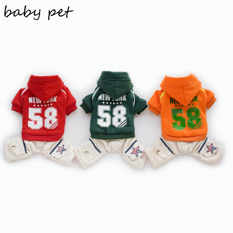 High quality winter clothing for dogs cotton pet dog jumpsuit winter dog clothes dog coat jacket pet products free shipping