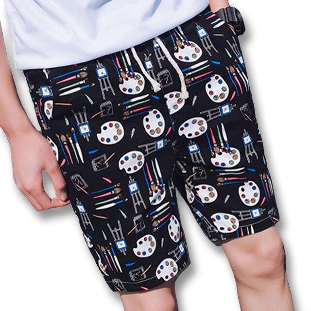 2017 Men Active Beach Board Shorts Sweatpants Trunks Men's Casual Fashion Slim Fits Knee Length Shorts Bermuda Masculina Shorts