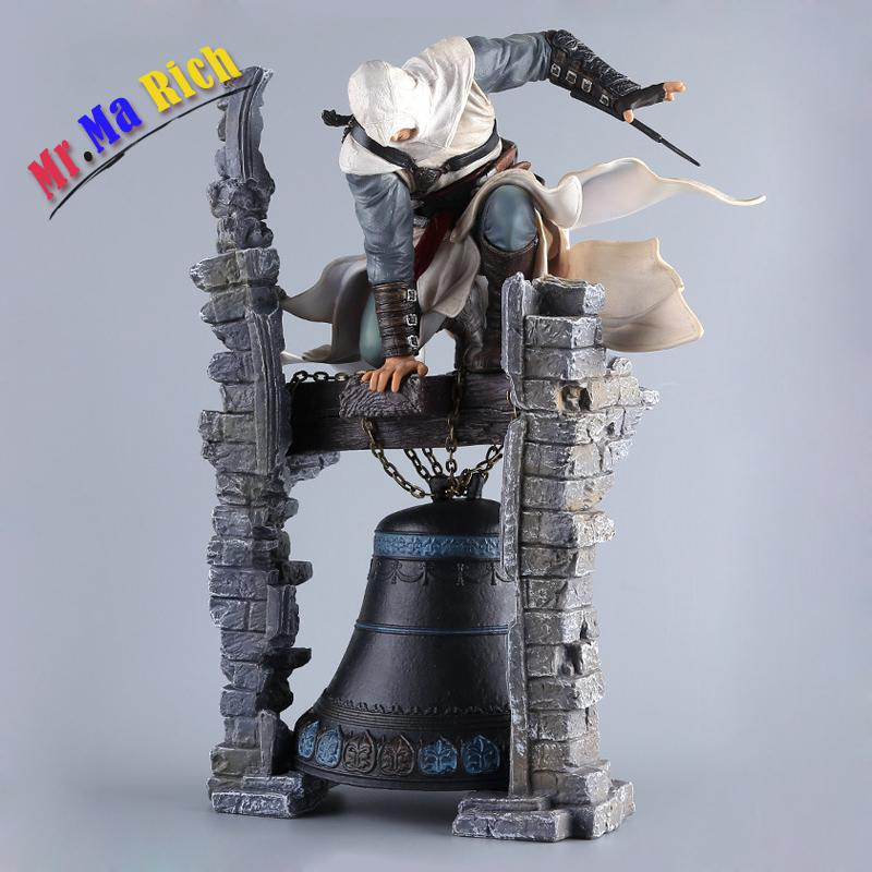 Creed Character Altair Pvc Action Figure Us Movie Model Toys Kids Gifts The Legendary Assassin Statue assassin creed altair player 7 pvc action figures low price toys for boys birthday gift with box ck0003