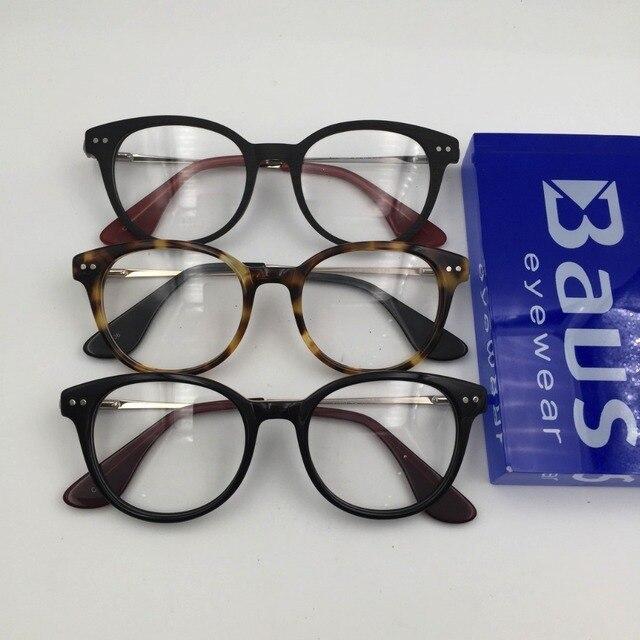 6b2689268b9 PK Italian eyewear Brand Design round metal temple with spring optical  Myopia prescription Eyewear eyeglasses Frame