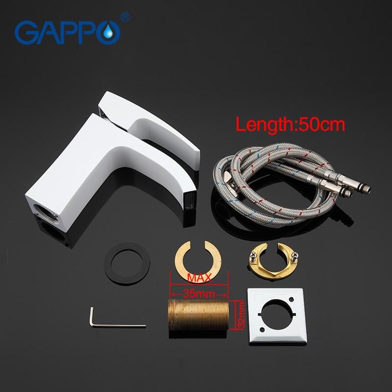 Image 5 - GAPPO Shower System bath shower faucet set Bathroom mixer tap shower bathtub faucet rainfall shower set waterfall Faucetfaucet setfaucet shower setfaucet bathroom mixer -