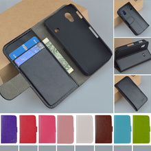 Flip Retro PU Leather Case For Samsung Galaxy Ace S5830 GT-S5830 GT S5830I gt-s5830i Cover Book style J&R Brand phone cases(China)