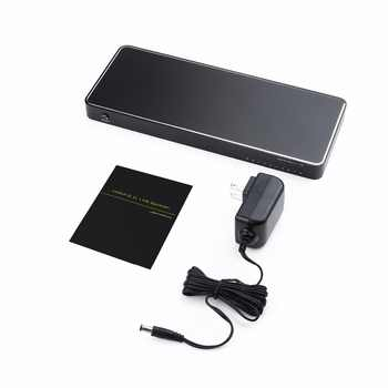 1 で 8 アウト 8 ポートのための 1 × 8 HD HDMI スプリッタオーディオビデオ 3D 1080 1080P HDCP 2.2 、 4 18K で 60Hz & 3D