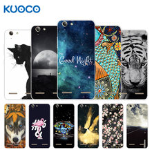 For Lenovo Vibe K5 / K5 Plus Lemon 3 A6020a40 A6020 A40 Back Cover Silicone Tiger Design For Lenovo Vibe K5 Plus Case(China)