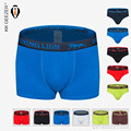 NEW Nice Quality Fashion Sexy Cotton Boxers Men Underwear Shorts Boxer Breathable underpants Solid Black Gray Blue