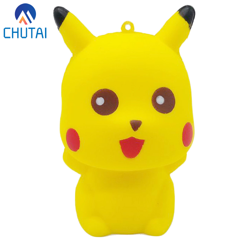 2019 New Fashion Kawaii Squishy Cartoon Doll Phone Straps Squeeze Toys Bread Scented Stress Relief Toy For Kid Gift 10*7*6.5CM