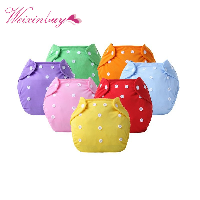 2017 Newborn Diaper Reusable Nappies Pant Baby Girl Clothes Diapers Changing Cotton Free Size Washable Diapers