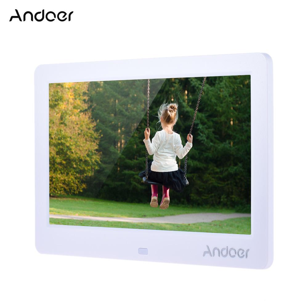 """Prix pour Andoer 10 """"HD Électronique Numérique Cadre Photo avec Télécommande Soutien MP4 MP3 Lecteur Vidéo E-book Horloge Calendrier"""