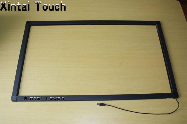 "Xintai Touch 10 poins 27"" Infrared multi touch screen overlay kit / Infrared Touch Screen frame"