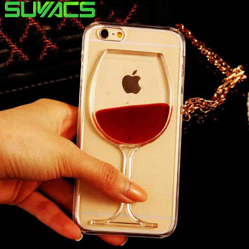 Phone Bags & Cases Red Wine Cup Dynamic Liquid Bling Glitter Quicksand Moving Star Cover For Huawei Y7 Prime 2018 Y7 Pro 2018 5.993d Cup Phone Case Attractive Fashion