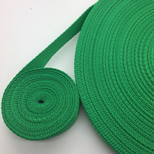 10 yardas 25mm 30mm 38mm Correa verde de nailon correas correa de seguridad(China)