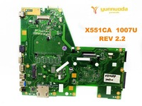 Original for ASUS X551CA laptop motherboard X551CA 1007U REV 2.2 tested good free shipping