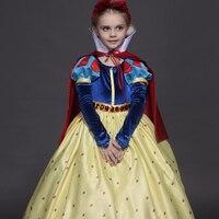 High - end children 's wear girls dress dress children' s snow - white skirt show stage service