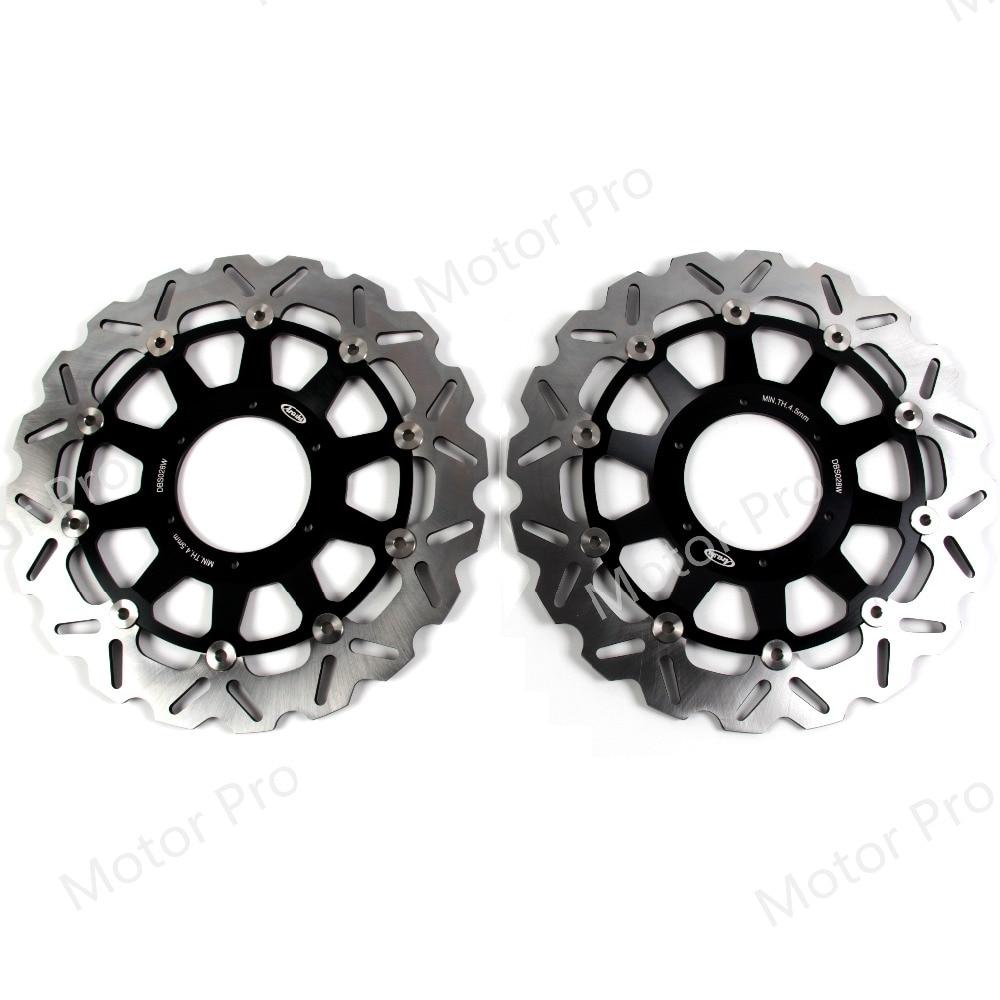 For Honda CBR929RR 00-01 CBR954RR 02-03 Front Brake Disc Rotor Disk CBR 929 954 RR CBR929 CBR954 929RR 954RR 2000 2001 2002 2003 bikingboy motorcycle 1 set front rear brake disk disc rotor pad for honda cbr929rr cbr954rr cbr 929 954 rr 2000 2001 2002 2003