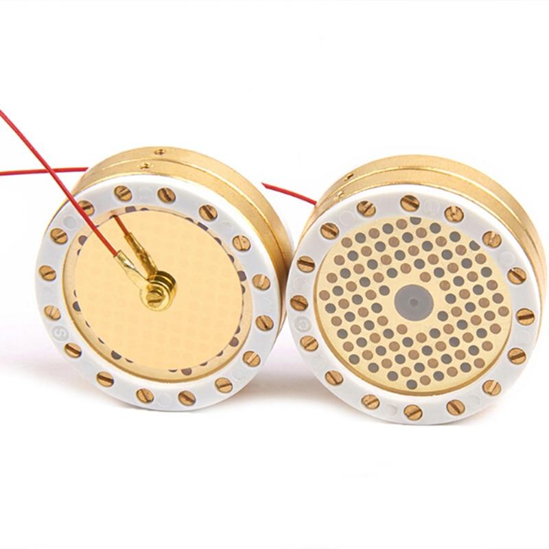 Высококачественный микрофон диаметром 34 мм, большой мембранный картридж, основная капсула для студийной записи, конденсаторный микрофон