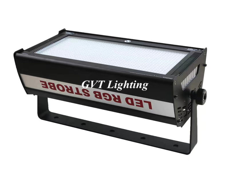 Flightcase packing 4pcs/lot 1000W LED RGB Strobe Light Professional Strobe Lighting Stage Party Bar Music Active DMX 512 control - 3
