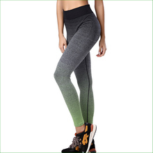 RP08 HOT Gradient Color Women Running Pants Compression Long Pants  Yoga Sports Tights sports legging