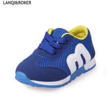 LQ 2017 Spring Children Casual Shoes For Girls Baby Sport Shoe Boys Running Trainers Kids Breathable