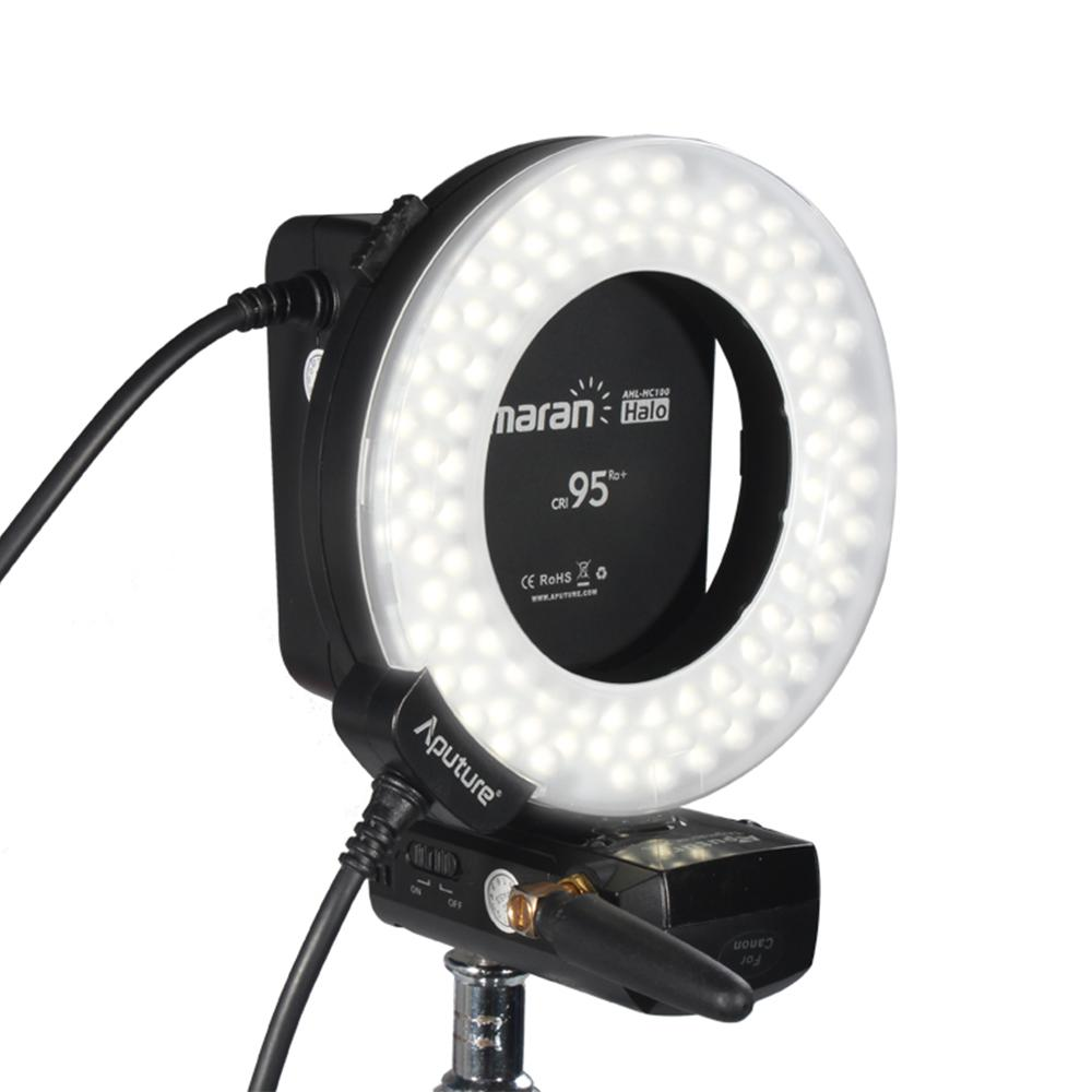 Aputure Ahl Hc100 Cri 95 Marco Led Ring Flash For