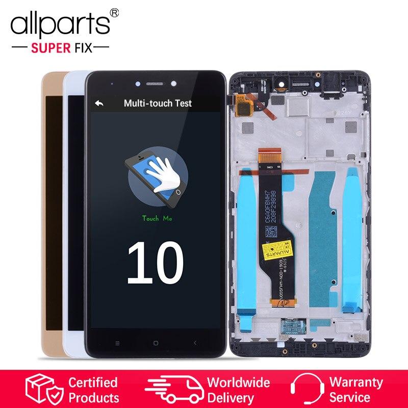 Snapdragon 625 Original Display Für XIAOMI Redmi Hinweis 4X LCD Touch Screen mit Rahmen Für Redmi Hinweis 4X Globale LCD display Teile