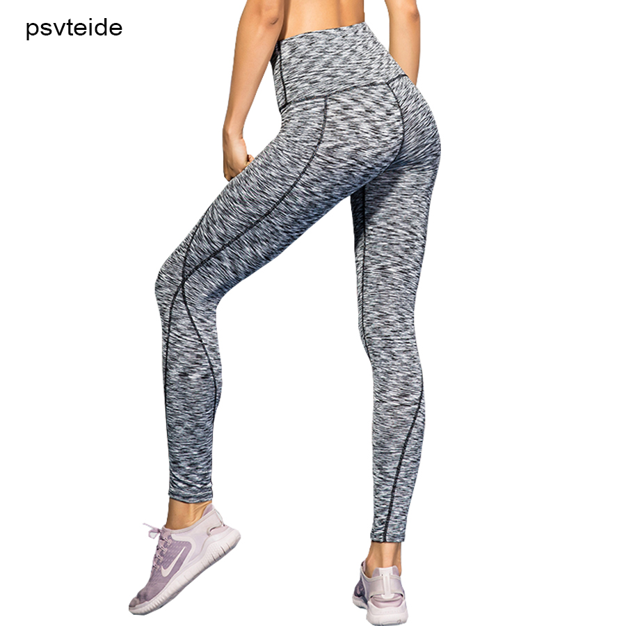 sports pants for women tights strenchy Yoga-trousers compression pants exercise tights High Waist workout pants running tights tights