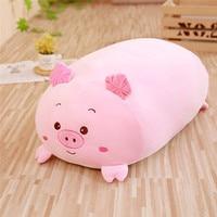 Chubby cute Pillow Soft Animal Cartoon Cushion Plush Toy Stuffed Pillow
