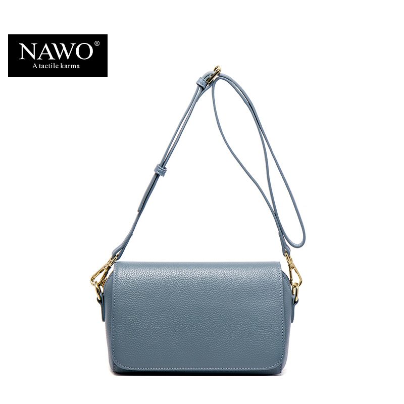 NAWO Fashion Brand Genuine Leather Messenger Bag Famous Brand Women Shoulder Bag Envelope Women Clutch Bag Small Crossbody bag sgarr new pu leather messenger bag famous brand women shoulder bag envelope women clutch bag small chain crossbody bags female