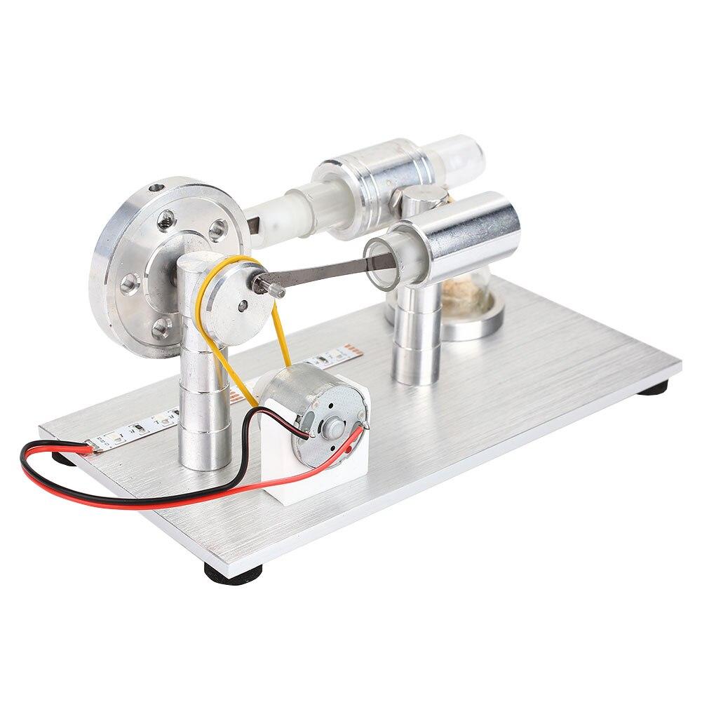Edcuational двигатели для автомобиля двигатель сплав взрослых Стирлинг Steampower Прямая