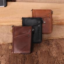 100% Genuine Leather Men Wallet Small Zipper Pocket Men Wallets Portomonee Male Short Coin Purse Brand Perse Carteira For Rfid недорго, оригинальная цена