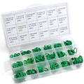 2016 Green 18 Sizes Assortment Kit Air Conditioning Car Auto Vehicle Repair O Rings Set  Practical