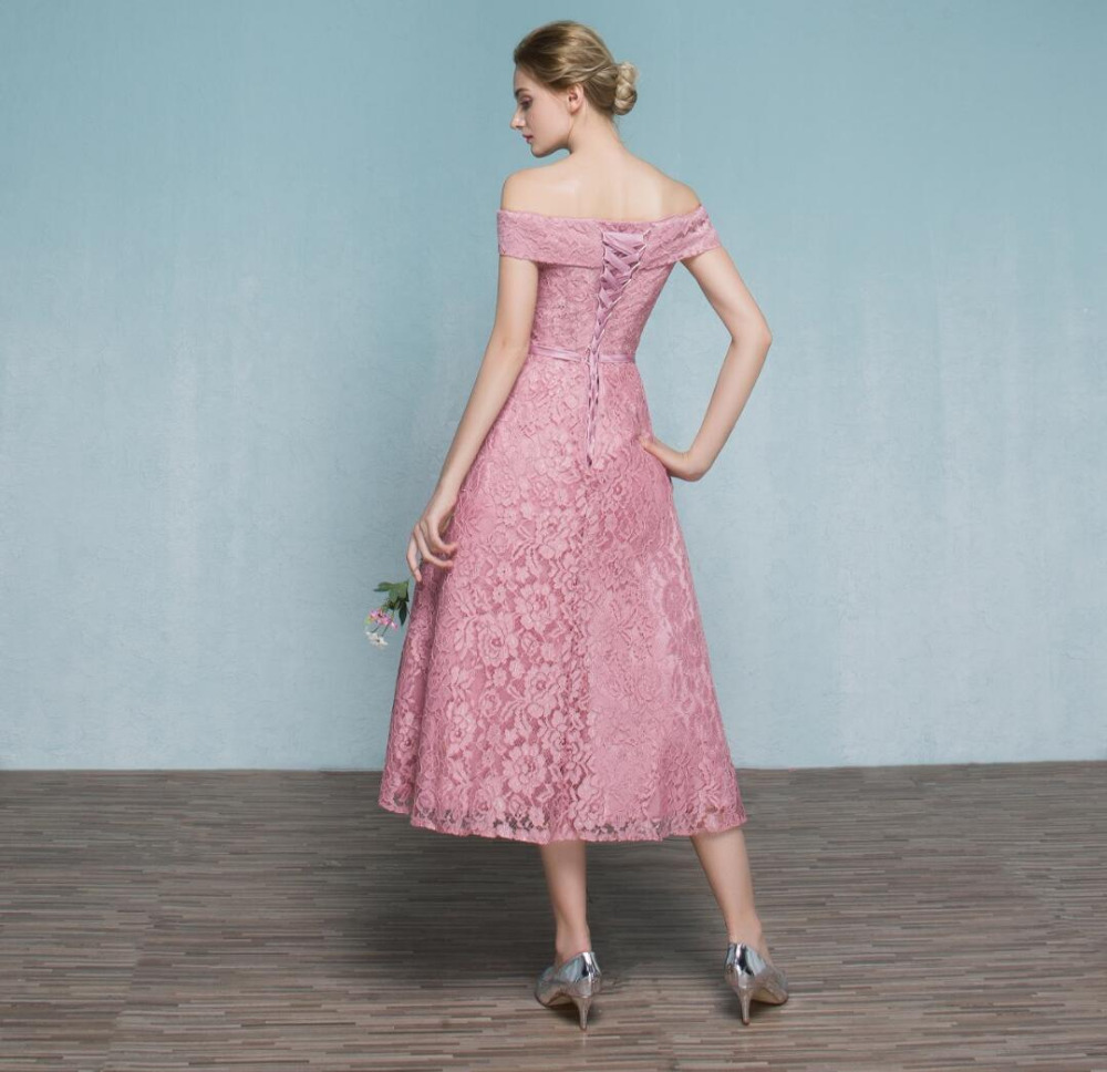 Nice Tea Length Prom Dresses Vintage Adornment - All Wedding Dresses ...