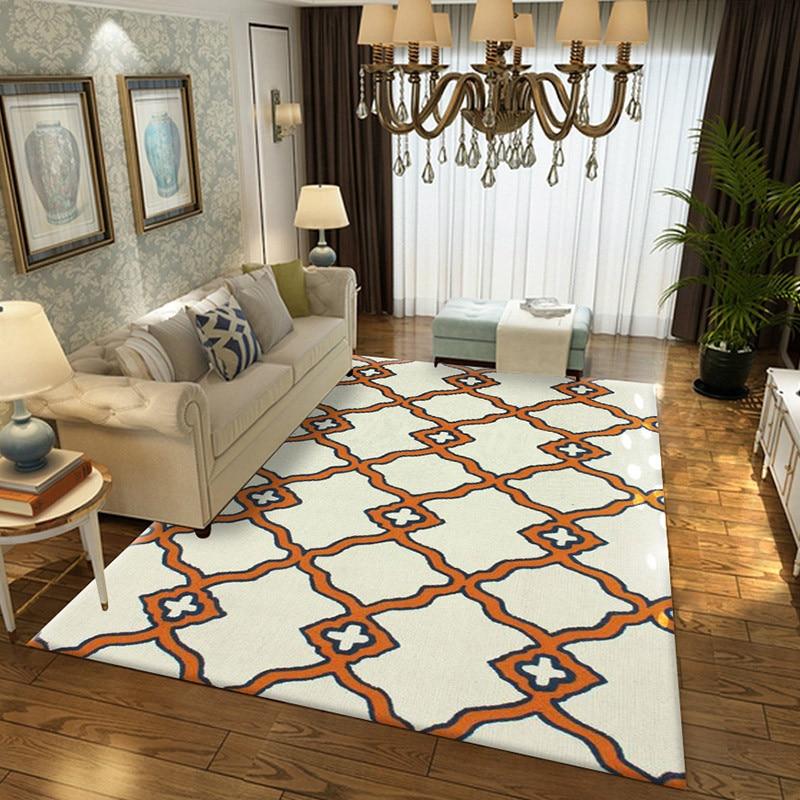New Geometric Pattern Living Room Carpet Decoration