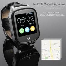 A19 Idosos Crianças Relógio de Pulso relógio Inteligente 3G WIFI GPS Localizador Rastreador Bebê inteligente SOS LBS Relógio Com Câmera Para IOS Android Phone