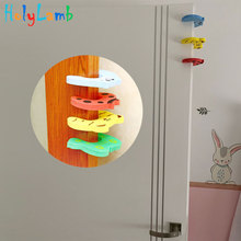 Security-Card Door-Stopper Lock-Protection Baby-Safety Child 7pcs/Lot Newborn-Care Animal