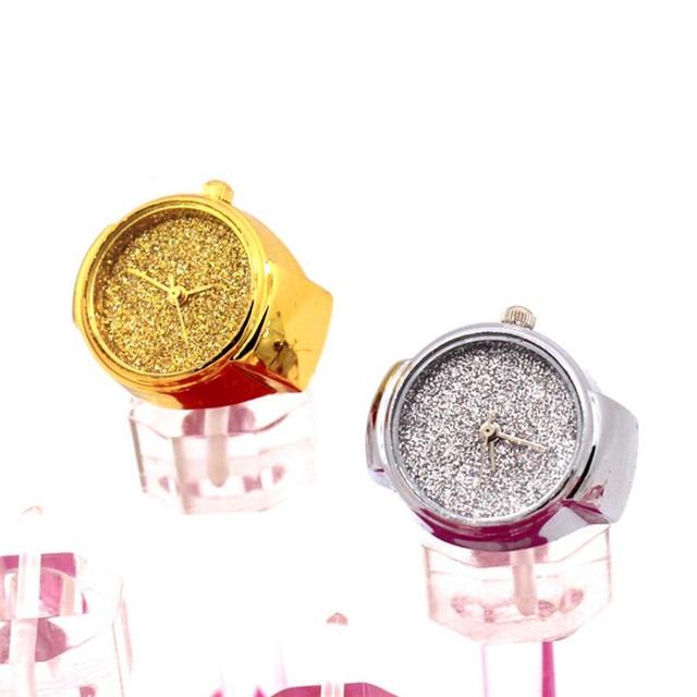 Watches OTOKY Dial Quartz Analog Watch Creative Steel Cool Elastic Quartz Finger