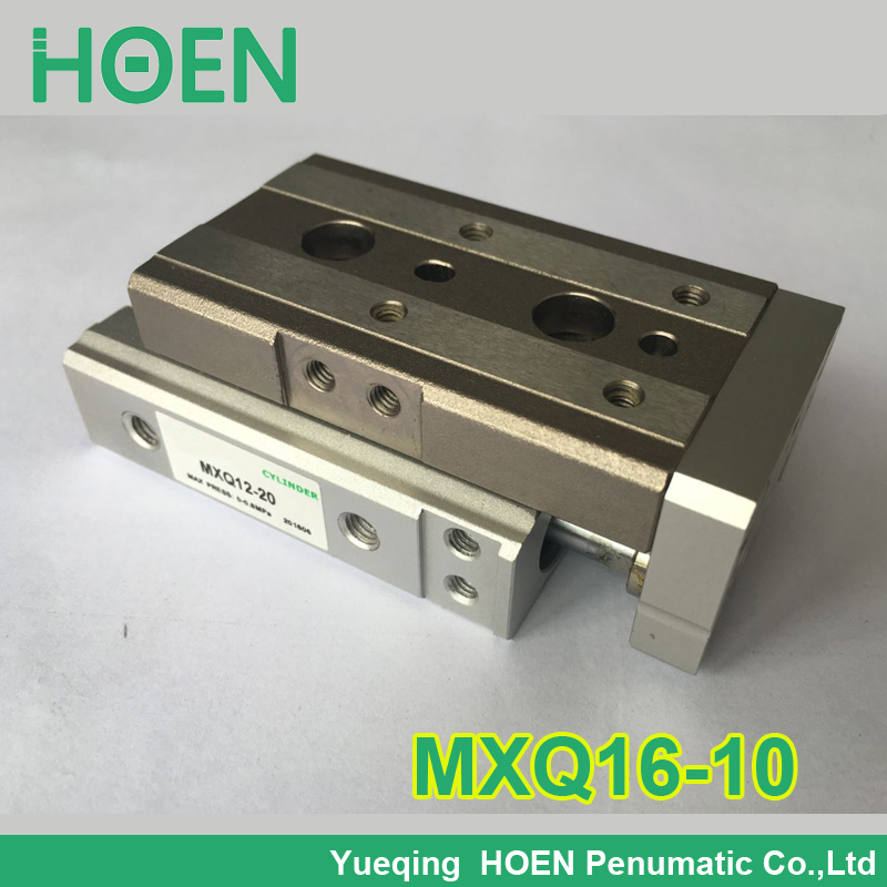 MXQ16-10 AS-AT-A MXQ16L-10 SMC MXQ series Slide table Pneumatic Air cylinders  pneumatic component air tools MXQ slide cylinder cxsm10 10 cxsm10 20 cxsm10 25 smc dual rod cylinder basic type pneumatic component air tools cxsm series lots of stock