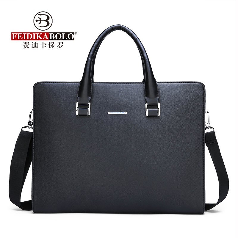 FEIDIKABOLO High-Quality Fabric Bag Mens Horizontal Handbag New Fashion Computer Bag High Quality Casual Shoulder Messenger BagFEIDIKABOLO High-Quality Fabric Bag Mens Horizontal Handbag New Fashion Computer Bag High Quality Casual Shoulder Messenger Bag