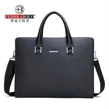 FEIDIKABOLO High-Quality Fabric Bag Men's Horizontal Handbag New Fashio