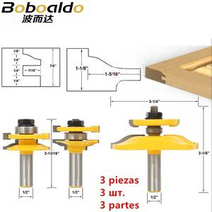 Image 2 - Porta dellarmadio Rail Stile Fresa Carbid Lavorazione Del Legno Router Bit Strumento di Legno Piano di Puzzle Coltelli Pannello Raiser Colla Comune