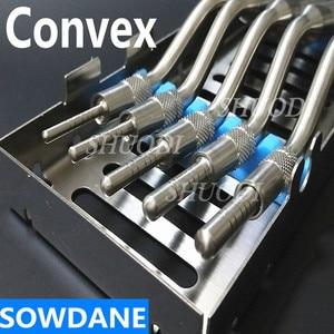 Image 2 - 5 adet Set diş Implant bitki osteotom cihaz kemik ekstruder diş diş çıkarma aracı sinüs kaldırma bükülmüş kaset kılıfı