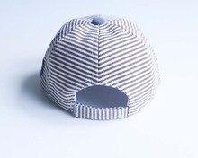 Toddler's Striped Baseball Cap