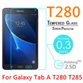 """T280 9H 0.3mm 2.5D Explosion-Proof Tempered Glass For Samsung Galaxy Tab A T280 T285 2016 7"""" Toughened Film Screen Protect Cover"""